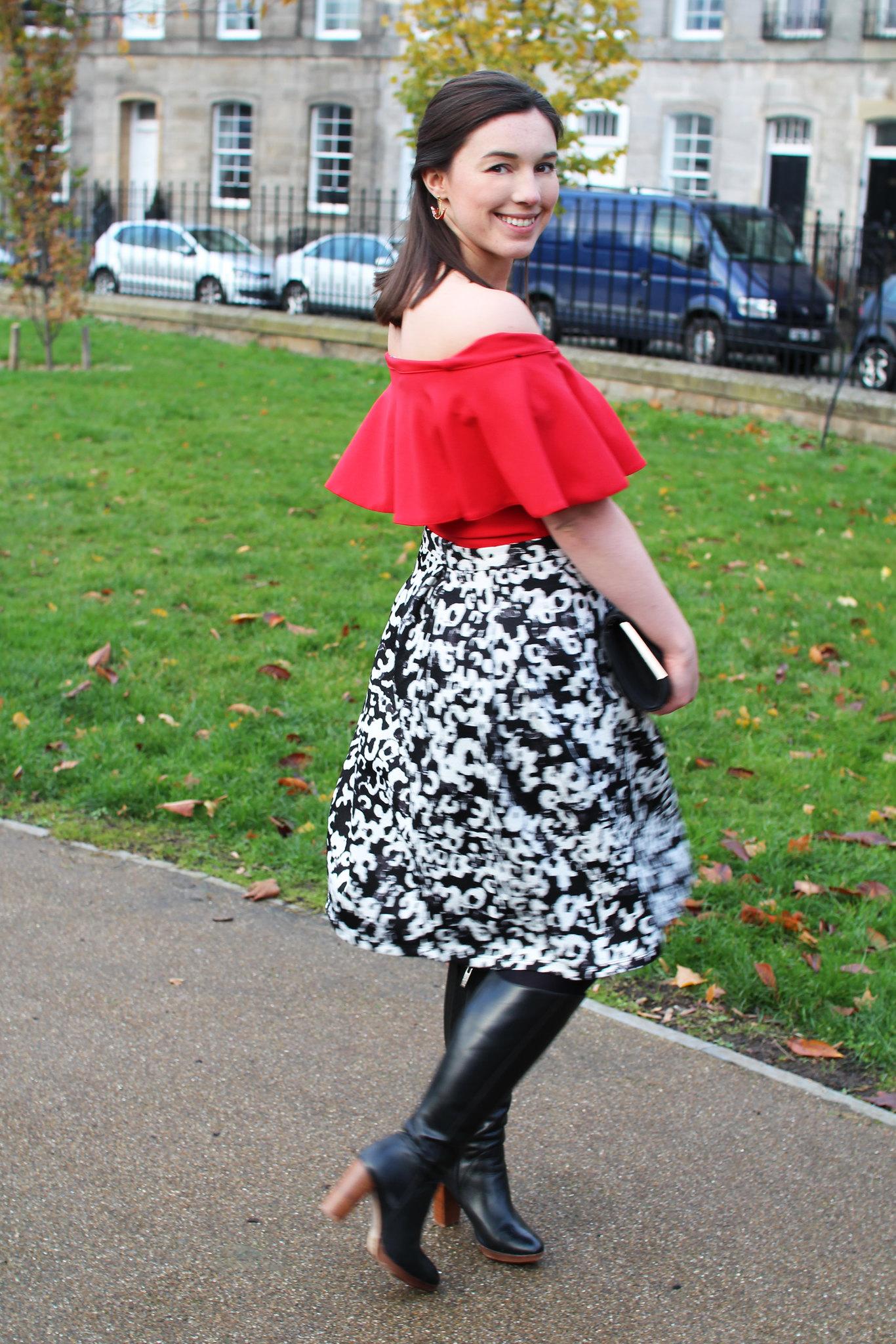 Edinburgh fashion lifestyle blogger UK Scotland