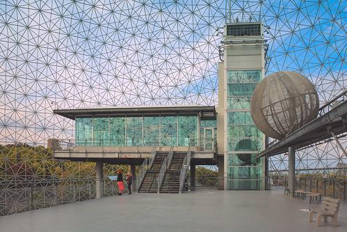 Inside Montreal's Biosphere