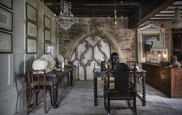 Alex MacArthur Interiors, new showroom - The Monastrey, Rye