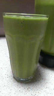 Mango Ice Cream Green Smoothie