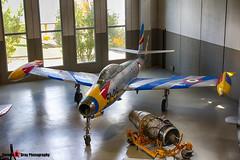 MM51-11049 51-29 - 2142-502B - Italian Air Force - Republic F-84G Thunderjet - Italian Air Force Museum Vigna di Valle, Italy - 160614 - Steven Gray - IMG_1015_HDR