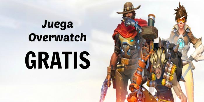 Juega Overwatch gratis del 18 al 21 de noviembre