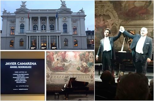 Gran triunfo del tenor Javier Camarena en Ópera de Zúrich