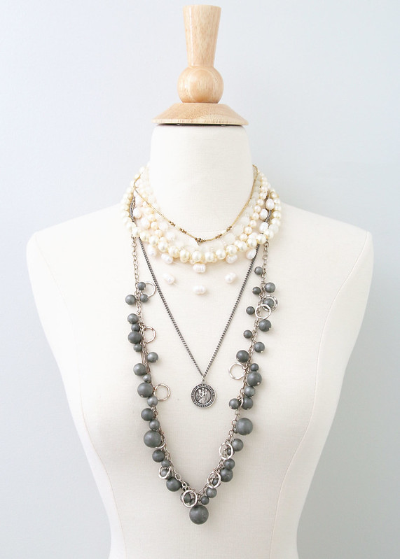 Tween Bedroom Heirloom Vintage Necklaces
