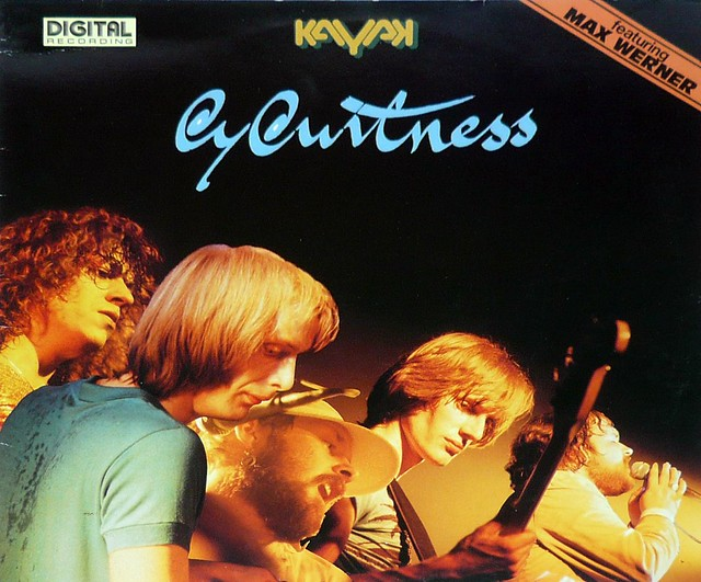 "KAYAK EYEWITNESS (LIVE) 12"" vinyl LP"