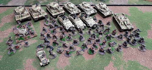 Bolt Action - German Armoured Platoons