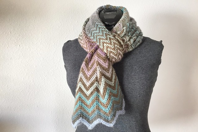 Mixed Up Scarf