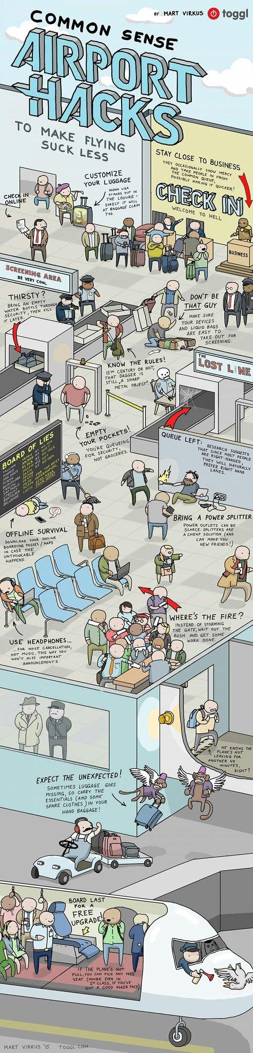 Airport-hacks