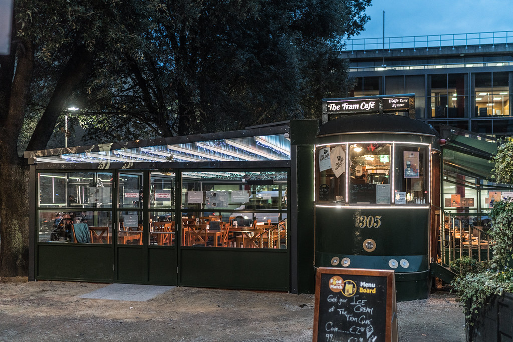 THE TRAM CAFE HAS EXPANDED [IN ALL DIRECTIONS]-1237970