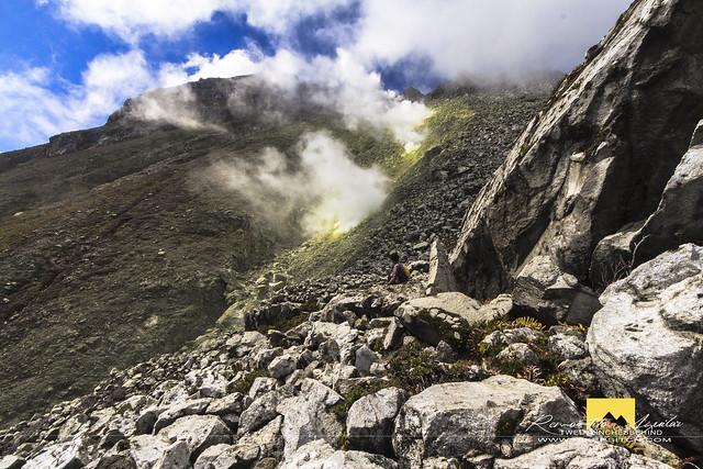 Mt. Apo Geothermal vents