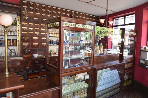 Beamish Museum chemist photographer Aug 16 (1)