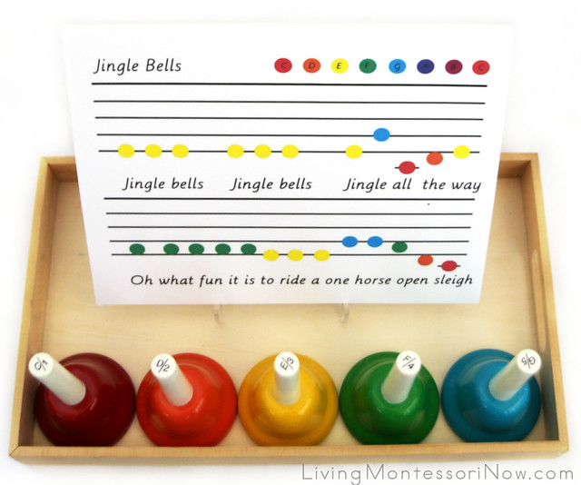 Jingle Bells Song Tray