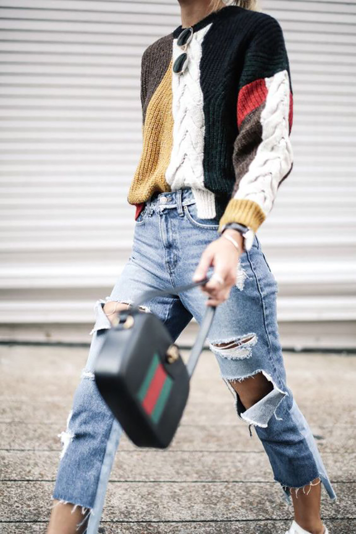 Knitwear rainy day outfit accessories fall style streetstyle winter style fashion trend16
