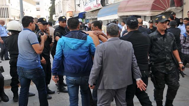 police vendeurs ambulants