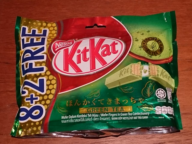 Green Tea Kit Kats from Vietnam