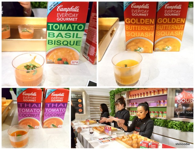 Campbell's soup samples