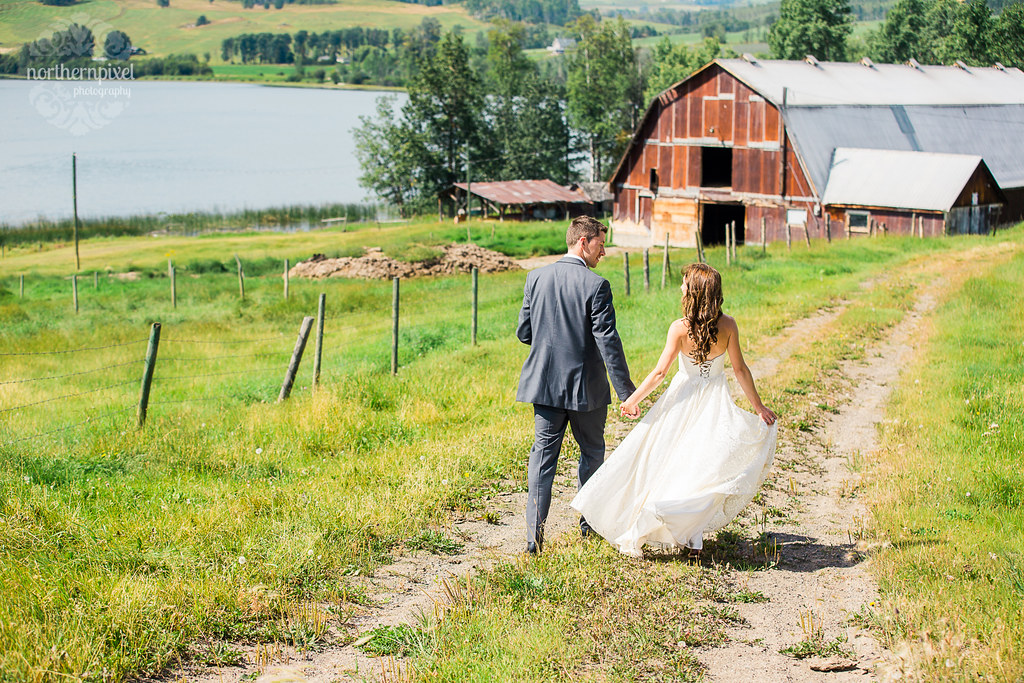 Farm Wedding - Smithers BC