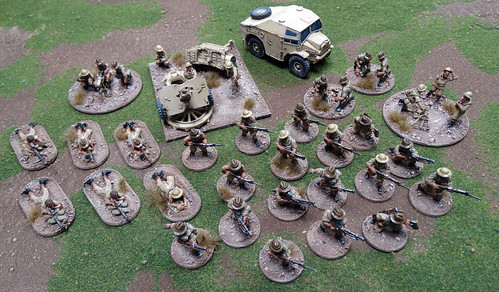 Bolt Action - British 8th Army / Australiens