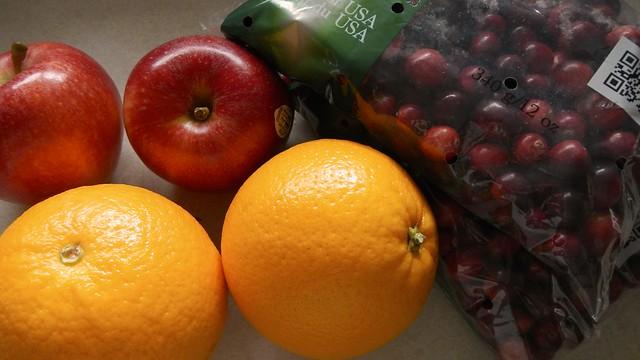 Citrus Cranberry Sauce 1