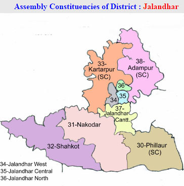 Jalandhar district Punjab Election 2017