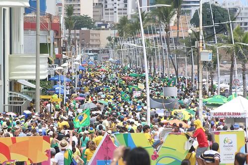 Manifestação de apoio a Lava Jato e Contra Corrupção