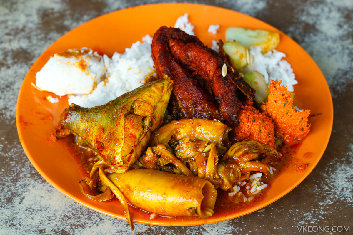 Nasi Kandar Ayam Merah Yong Suan Ipoh