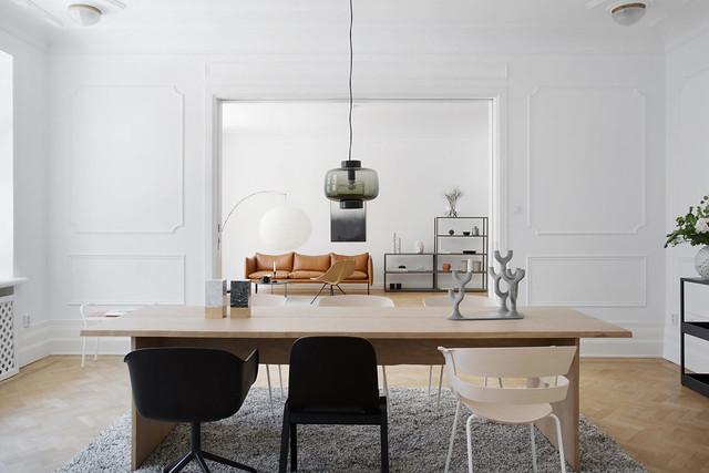 Elegant interior of Lärkstan by Annalena Leino. Sundeno_07