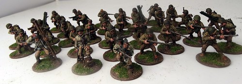 Bolt Action - US Rangers & German Fallschirmjäger