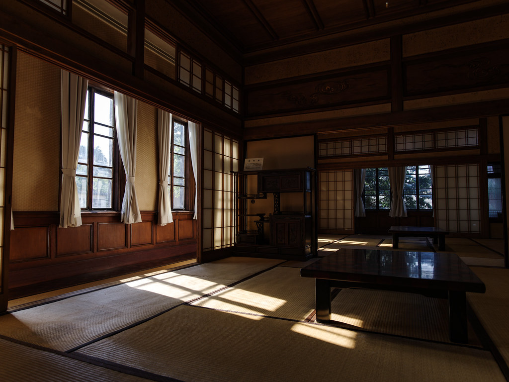 旧石川組製糸西洋館_和室