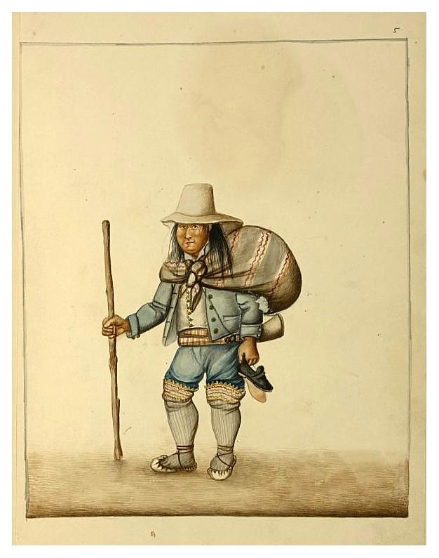 003- Hombre de Lima- década 1830-40- Pancho Fierro-NYPL