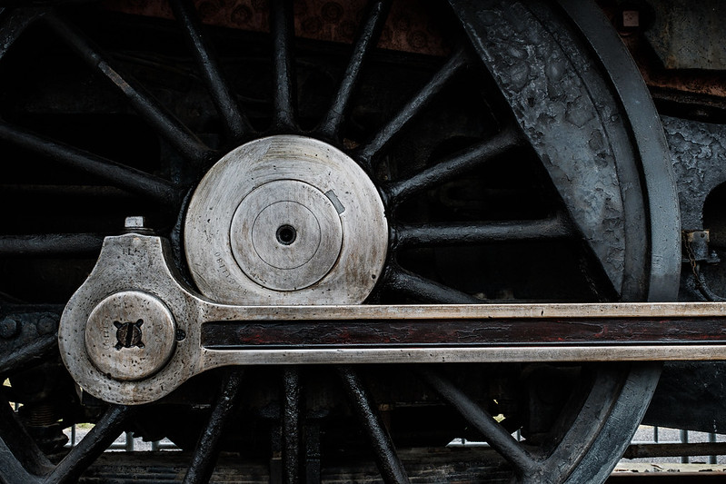 Steam locomotive parts