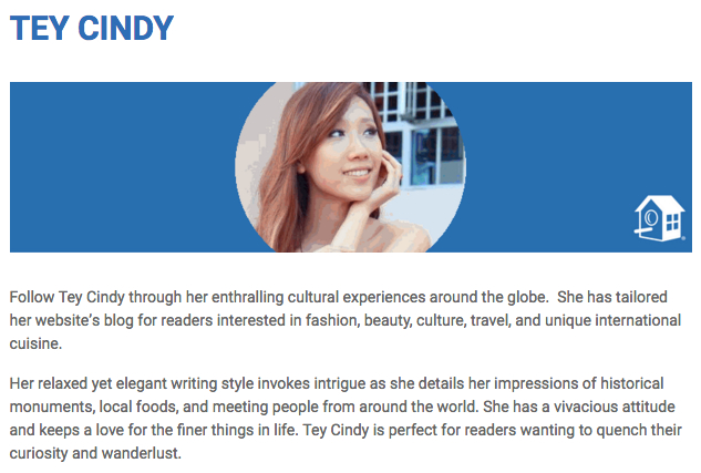 Tey Cindy HomeAway Best Bloggers Malaysia