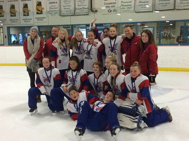 Nov 13, 2016 - Sask BPM - U14AA White wins Silver