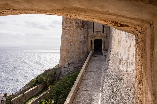 entrance to citadel