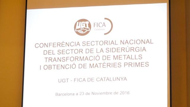 Conferència Sectorial Sector siderúrgia Barcelona