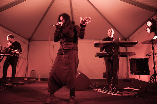 Zola Jesus // photo by Bebe Labree Besch