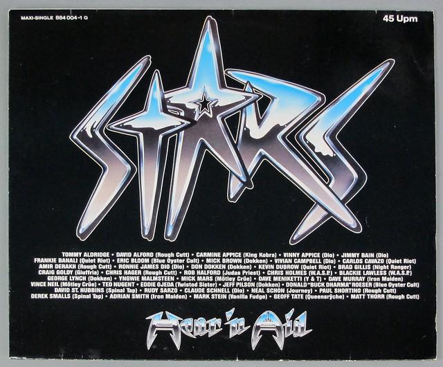 "HEAR 'N' AID STARS 12"" MAXI-SINGLE VINYL"