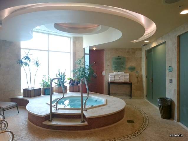 Jacuzzi at The Spa