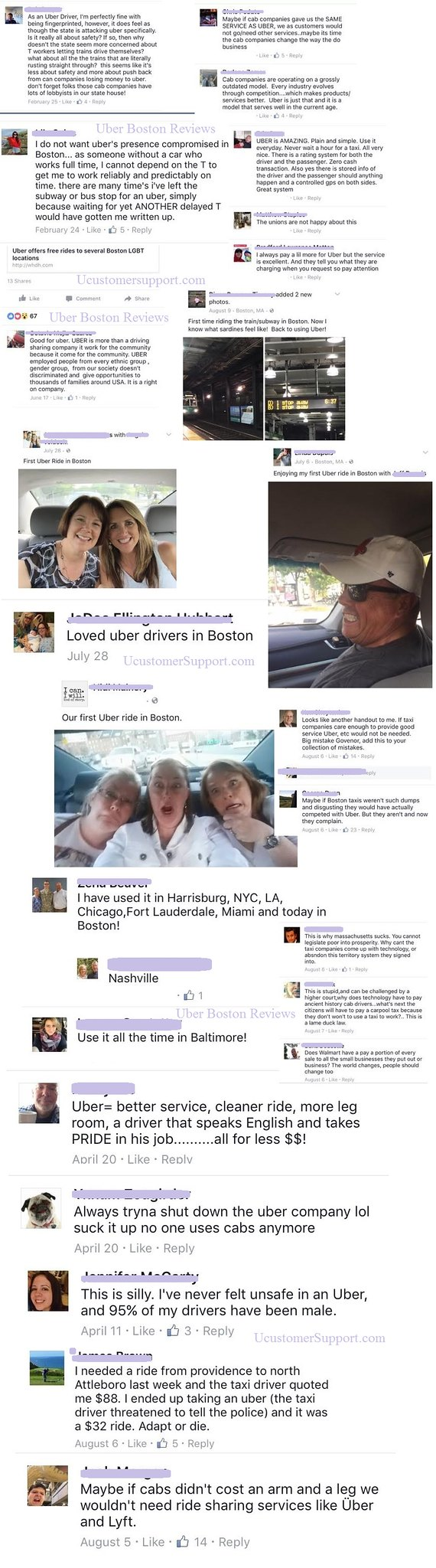 Uber Boston Reviews