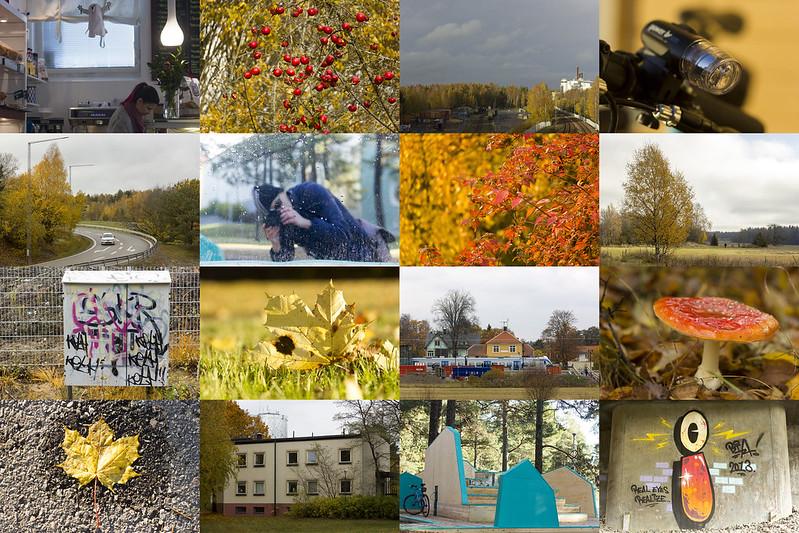 Sixteen October Scenes