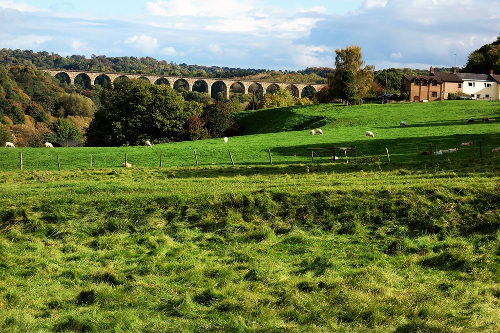 Cefn Railway Viaduct, Wales