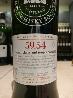 SMWS 59.54 - Elegant, classy and simply beautiful