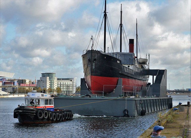 Maddog + SS Robin (15) @ Royal Victoria Dock 07-11-16