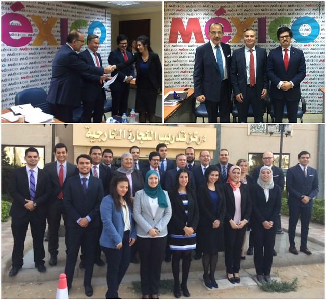 ProMéxico capacita a agregados comerciales egipcios en promoción de inversiones y comercio