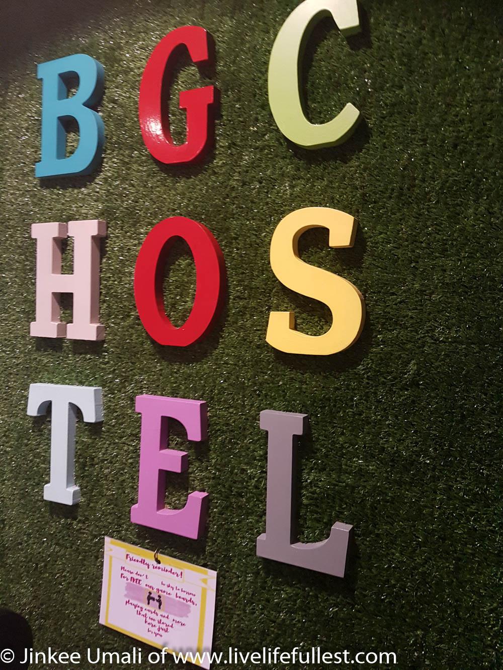 BGC Hostel Makati