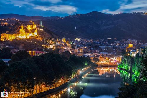 Night at Tbilisi