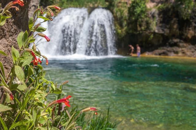 Trails: Waterfall on Fossil Creek