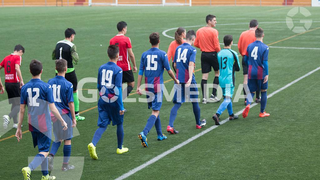 "U.D.Alzira ""A"" 3 - 1 F.C. Jove Español San Vicente ""A"" liga cadete autonomica (Carlos Alcalde)"