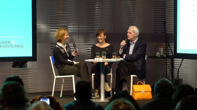 Charlotte van den Broeck en Adriaan van Dis