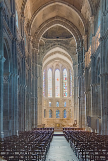 Hauptschiff Cathédrale Saint-Lazare, Autun